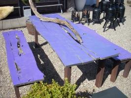 Tafel Van Schaaldelen.Meubels Botenhout Schouten Tuincreaties